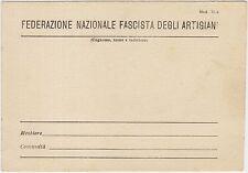 FEDERAZIONE NAZIONALE FASCISTA DEGLI ARTIGIANI