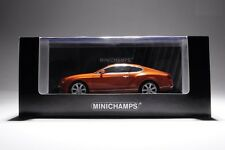 BENTLEY CONTINENTAL GT 2011 ORANGE METALLIC MINICHAMPS 436139981 1/43 METAL