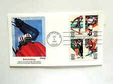 """January 6th, 1984 """"Bobsledding"""" First Day Cover"""