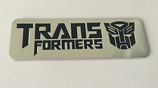 Transformers 3D Metal Auto Car Motor Logo Emblem Badge Sticker Decal  tm  + 42