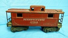 VTG LIONEL? #477618 PENNSYLVANIA ELECTRIC TOY TRAIN CABOOSE DIECAST REPLICA SH6D