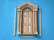 1/12 scale Dolls House  Front Door with Fan light    CV128