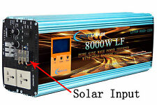 4 IN 1 OFF GRID 8000W PURE POWER INVERTER DC48V to AC220V/battery ,solar charger