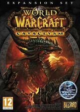 WORLD OF WARCRAFT CATACLYSM EXPANSION PACK PC * Nuovo e Sigillato *