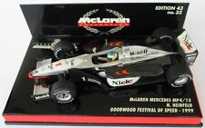 F1 1/43 MCLAREN MP4/13 MERCEDES HEIDFELD GOODWOOD 1999 MINICHAMPS