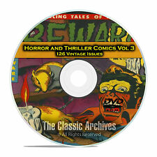 Horror and Thriller Comics Vol 3, Beware Mysteries 126 Golden Age Comics DVD D36