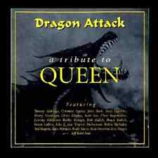"QUEEN tribute CD ""Dragon Attack"" sealed feat: Jake E Lee Bruce Kullick & Yngwie"