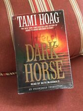 Dark Horse Tami Hoag Audio Book Set 10 Cassettes Unabridged 2002 Sealed NIB