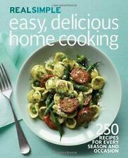 EASY, DELICIOUS HOME COOKING by REAL SIMPLE New 250 Recipes Book Cookbook