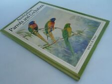 AUSTRALIAN PARROTS AND COCKATOOS 1988 large HC illus by Neville Cayley
