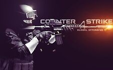 "CS GO Counter Strike Global Offensive FPS Hot New game Art 22""x14"" Poster"