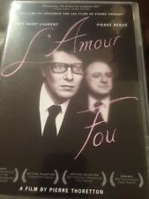 L'Amour Fou (DVD, 2011) Yes Saint Laurent Film