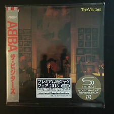 Abba-The Visitors SHM MINI LP Style CD NUOVO Giappone 2016