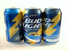 NEW 12 OZ SAN DIEGO CHARGERS BUD LIGHT CAN KICKOFF 2015 LE BOTTOM OPENED FREE SP