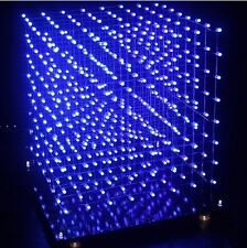Advanced Edition 3D8S LED light cube CUBE8 8x8x8 3D LED package electronic parts