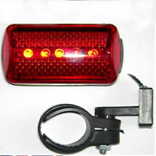 NEW BIKE BICYCLE CYCLE 5 LED REAR BACK LIGHT 6 MODES WATERPROOF