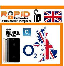 O2 UK IPHONE UNLOCKING SERVICE IPHONE 7 7 PLUS FAST CLEAN IMEI