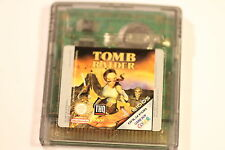 TOMB RAIDER NINTENDO GAME BOY COLOR CGB-AT9P-EUR  (GAME ONLY)
