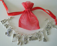 Harry Potter Theme Charm Bracelet Party Bag Filler Birthday Gift Jewelry & Bag