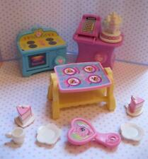 MY LITTLE PONY Oven G3 Kitchen Cotton Candy Cafe Cash Register Table Furniture