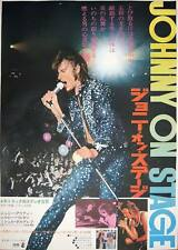 JOHNNY HALLYDAY (J'ai tout donne) Japanese B2 movie poster Japon POLNAREFF MINT