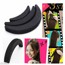 3Pc/Set Hair Increase Bumpit Styling Tool Bump Foam Sponge Pad Insert Wedding