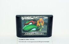 JEU SEGA MEGA DRIVE  TEENAGE MUTANT HERO TURTLES TOURNAMENT FIGHTERS