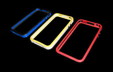 NEW LOT OF (3) RUBBER AND PLASTIC BUMPERS APPLE IPHONE 4 4S  SUPER FAST SHIPPING