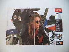 advertising Pubblicità 1988 MOTO APRILIA AF1 AF 1 125 SINTESI