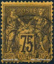 FRANCE SAGE N° 99 AVEC LEGERE OBLITERATION A VOIR