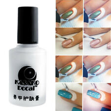 Nail Art Tape Latex Tape Palisade For Easy Clean 15ml White Peel Off Liquid