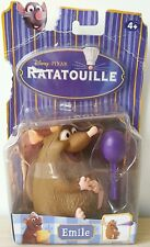 Action Figure Topo Ratto Emile Disney Pixar Ratatouille Blister Mouse Mattel New