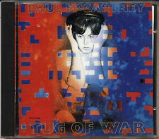 PAUL McCARTNEY Tug Of War JAPAN Early CD 1989 TOCP-5992 RARE!!