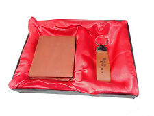 GIft Pack Combo pack of Genuine leather wallet and key ring for Men - Brown