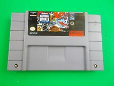 ESPN National Hockey Night Super Nintendo SNES 1994 sports video game