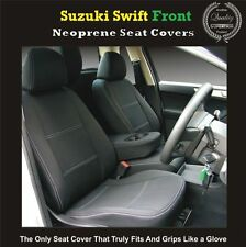 SUPERIOR SUZUKI SWIFT FRONT WATERPROOF CAR SEAT COVERS - 100% FIT OR MONEY BACK!