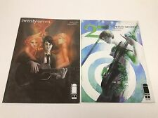 27 TWENTY SEVEN #1-2 (IMAGE/2ndPrt/CHARLES SOULE/ROCK&ROLL/1215202) SET LOT OF 2