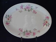 Floral Platter Compliments of Sach's Braddock, Pa Simplicity Canonsburg Pottery
