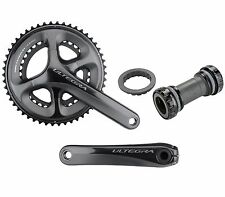 Shimano Ultegra FC-6800 50-34T Road Bike 2 x 11 Speed Crankset & BB - 170 mm