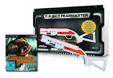 Cabelas Dangerous Hunts 2013 + Top Shot Fearmaster Gun Pistole Playstation 3 PS3