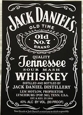 JACK DANIELS DELUXE GLOSSY POSTER 17 inch x 24 inch