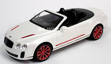 R/C 1/14 Radio Control Car BENTLEY CONTINENTAL Super Sport CONVERTIBLE White