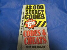 Prima's 13,000 Secret Codes & and Cheats (Spring 2005 Edition)