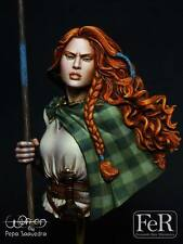 FeR Pepa Saavedra Women Boudica 1/10th Unpainted resin bust kit