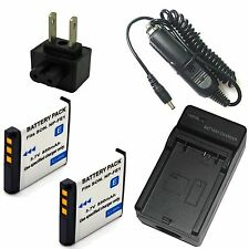 Charger + 2x Battery for NP-FE1 Sony InfoLithium E Series Cyber-shot DSC-T7 T7