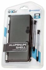 NEW Sealed GRAY Aluminum Shell with 2 Retractable Stylus Pens for Nintendo 3DS