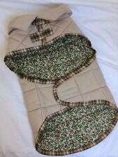 Quilted Dog Coat Jacket Pets Clothes Winter Outdoors Size M M/L