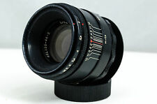 Helios 44-2 58mm f/2 Lens, modified for infinity focus on Nikon DSLRs.