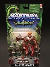 MOTU Mattel Masters Of The Universe Vs Snake Men He-Man Snake Hunter Skeletor