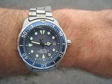 Promaster 200m in Titanio Citizen Divers ECO DRIVE molto raro caso solido in scatola G/C